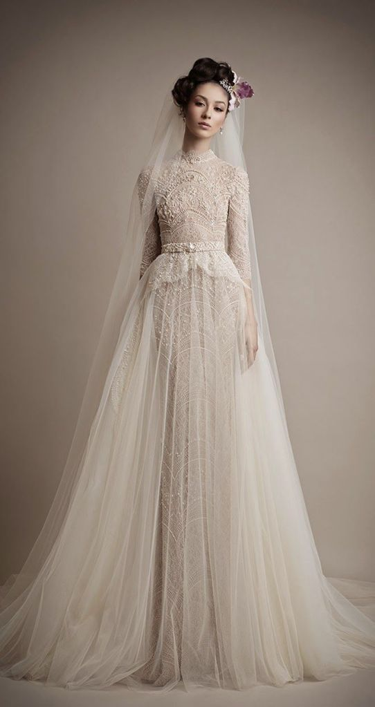 Ersa-Atelier-2015-Lace-Bridal-Dress-with-Long-Sleeves